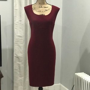 Talbots wool blend sheath dress size 14P